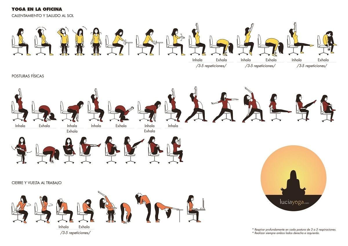 Rutina Yoga en la Oficina
