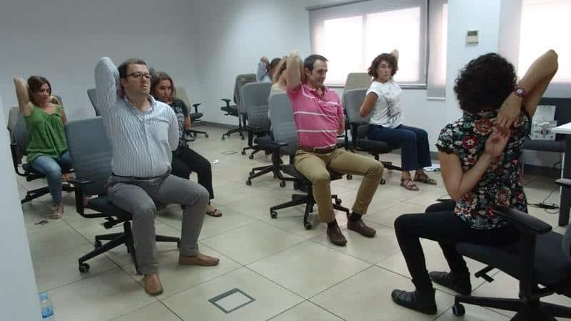 Office Yoga in Spain