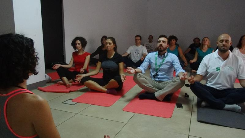 Office Yoga in Spain 19