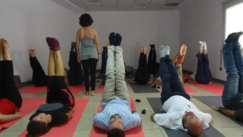Office Yoga in Spain 21