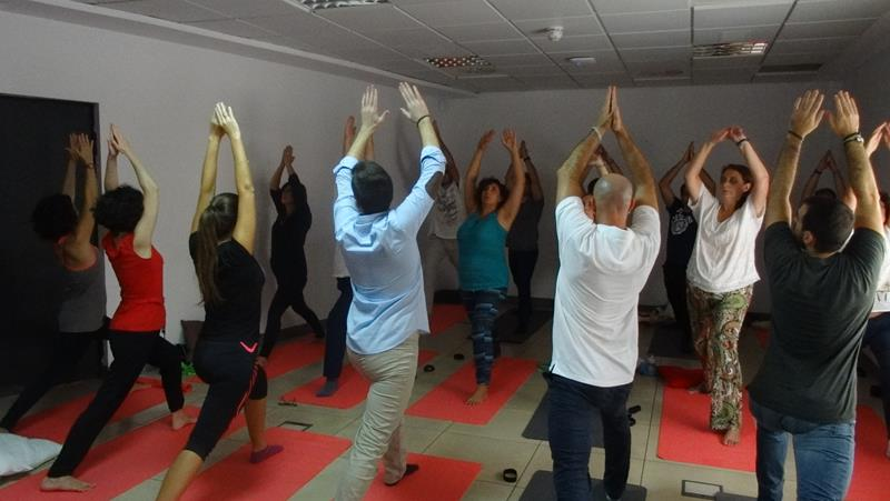 Office Yoga in Spain 23