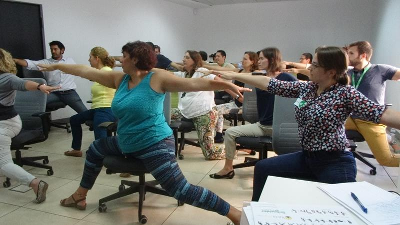 Office Yoga in Spain