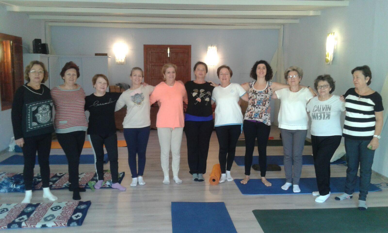 Retiros de Yoga para mayores.
