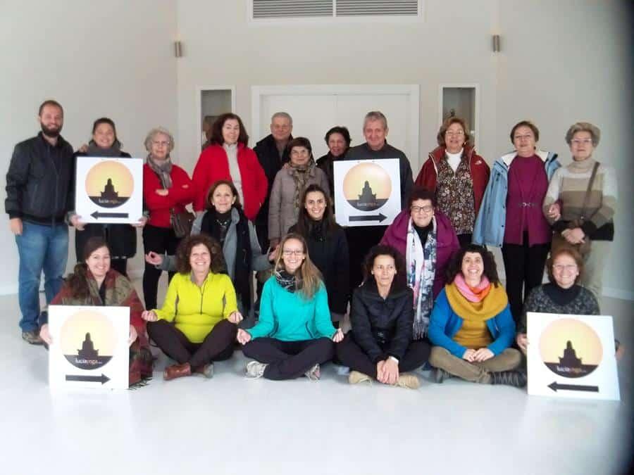 Foto de Grupo Escapada de Yoga de Fin de Semana para todas las edades de LuciaYoga en Granada