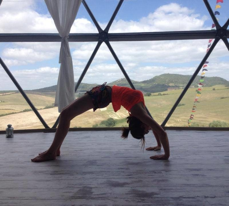 Backbend yoga practice blog