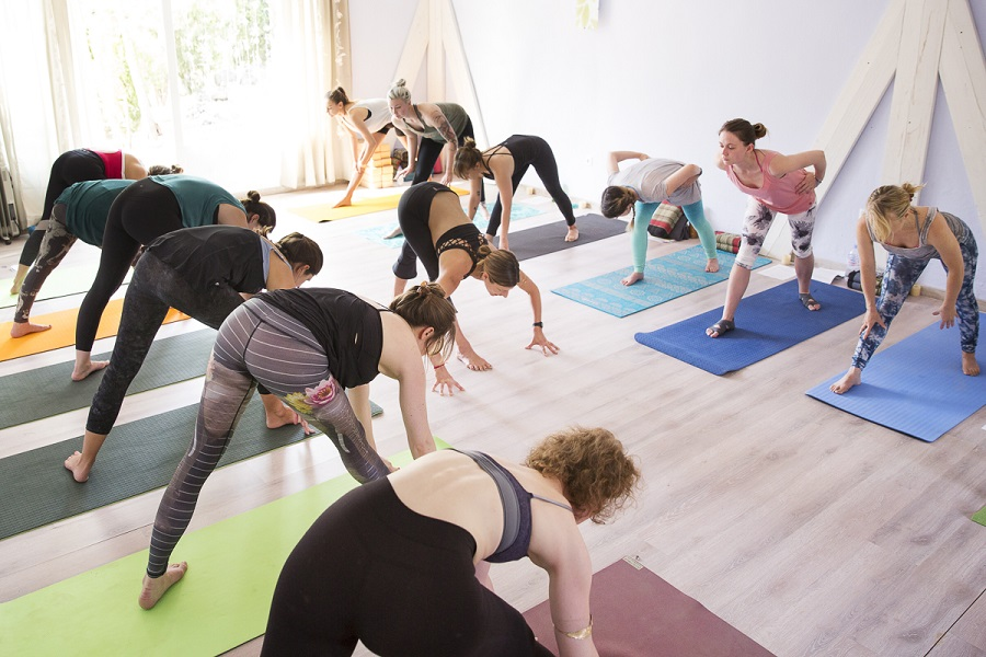 Nature Yoga with free people 2
