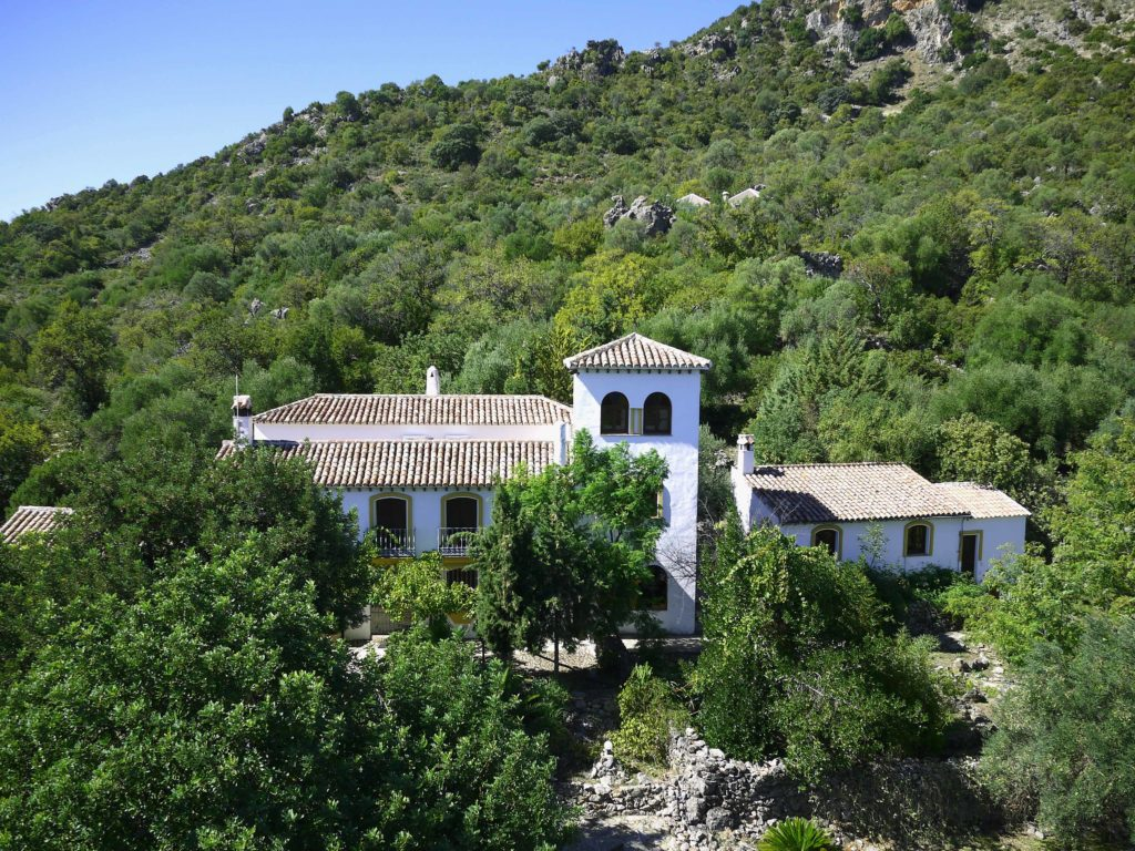 Nature Reserve retreat center cortijo 1