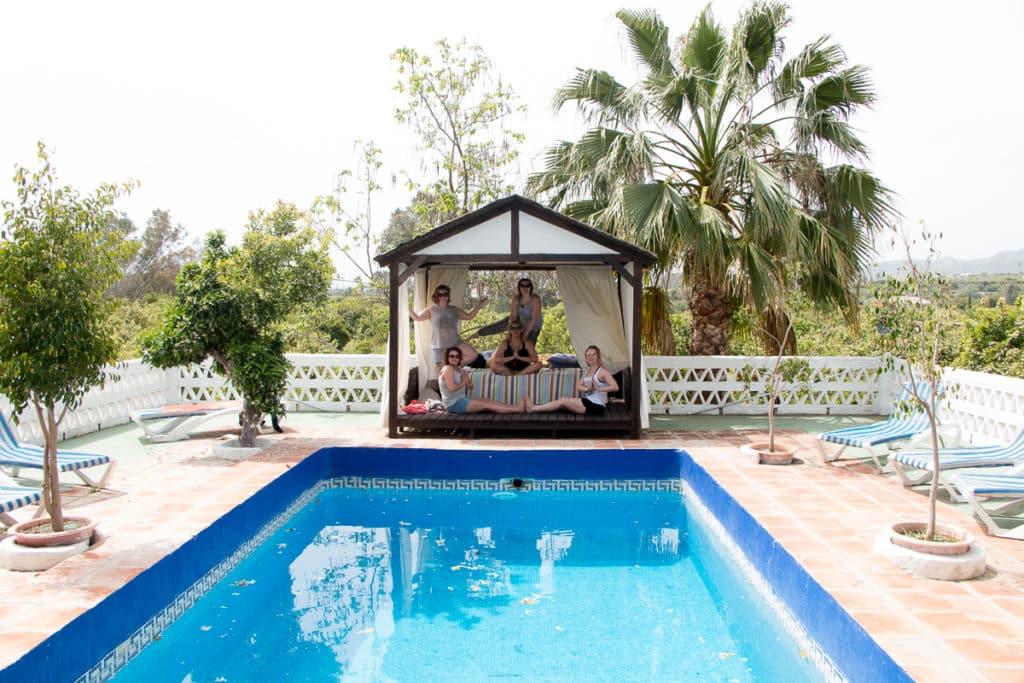 Malaga pool 2